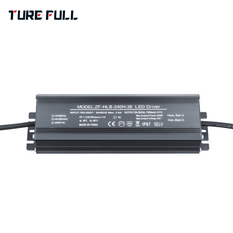 240W LED street light power supply